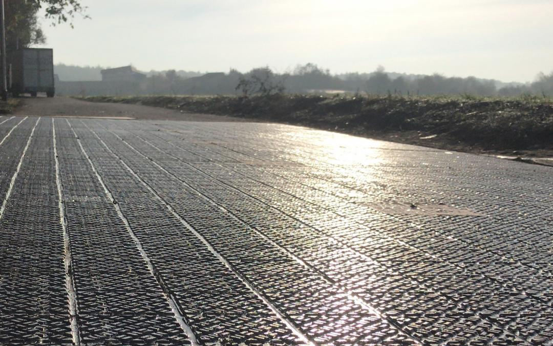 Solar roads for more sustainability in transport
