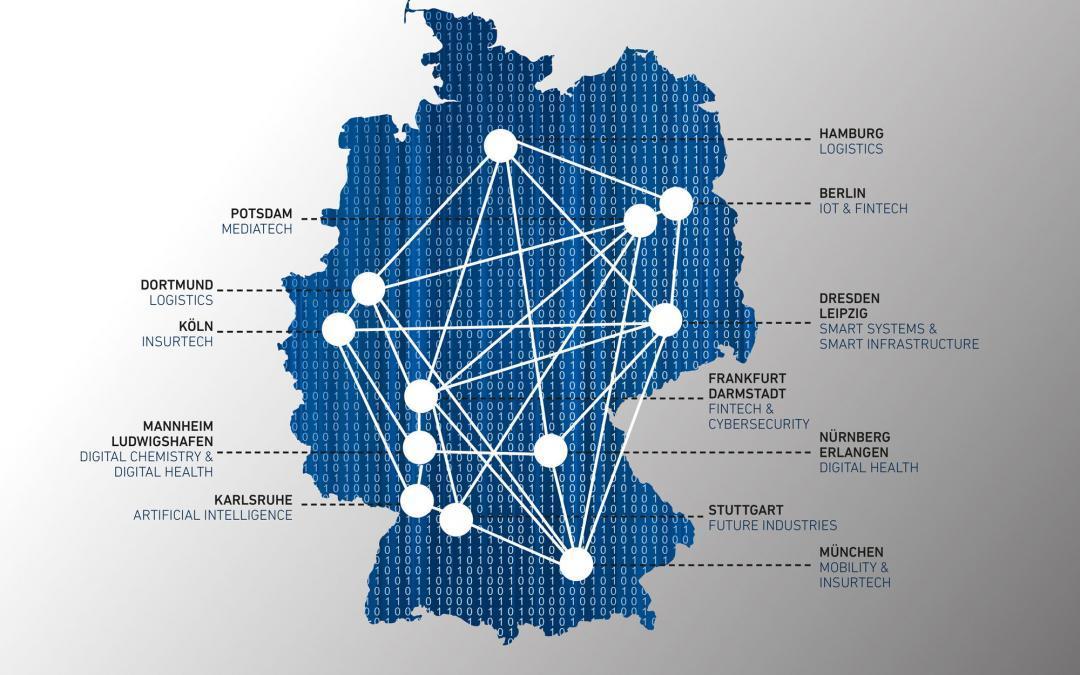 """""""Digital Hubs"""" für Deutschland"""