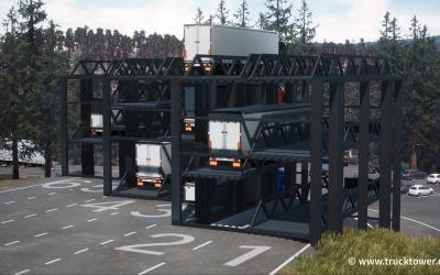 Parken Lkw bald im Hochregallager?