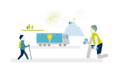 Picturing digital logistics