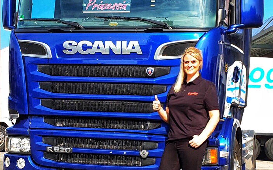 'As a woman, you can accomplish anything in the logistics industry.'