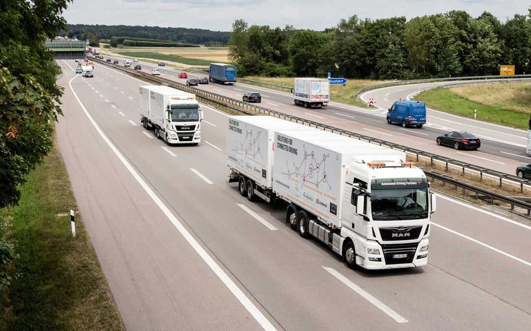 Is platooning the future of long-distance transport?