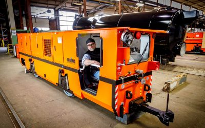 Locomotive builder sees success in new areas