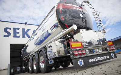 The Queen of the tank trailers