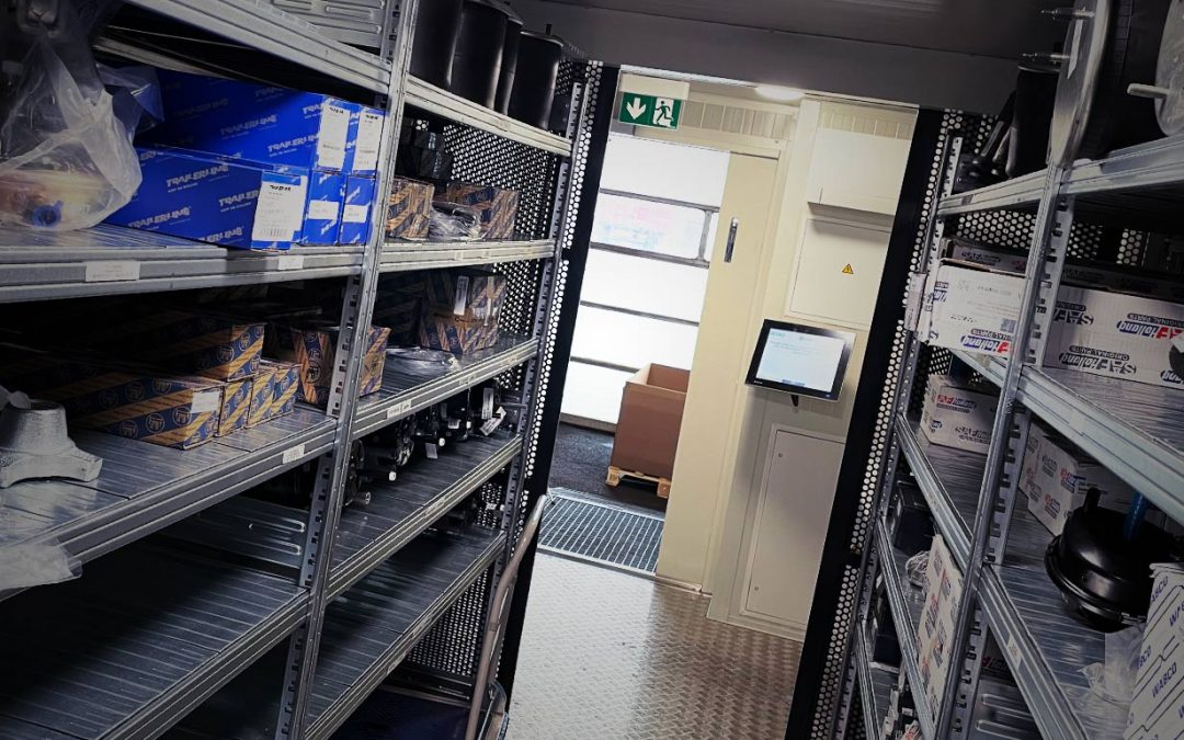 upBox: the digital and automated spare parts warehouse