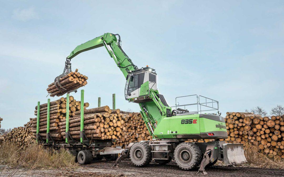 Kraftpaket für Baumstämme